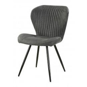 Stuhl Düren Vintage grau
