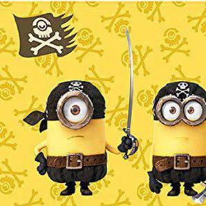 Minions - Piraten Strandtuch (Baumwolle)