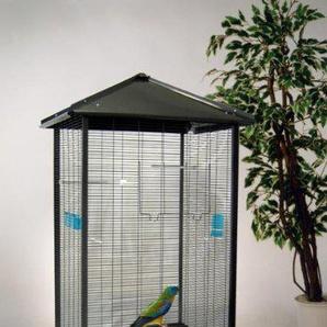 Bird Dream Voliere Milano anthrazit, ca. 79x68x147 cm