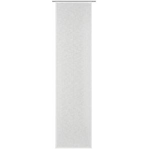 FLÄCHENVORHANG  halbtransparent 60/245 cm