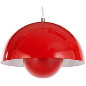 Hängelampe Panton Flowerpot - Rot