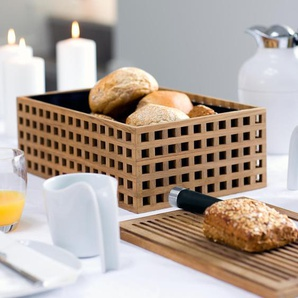 Shagerak Pantry Brotkasten aus Teakholz, aus Baumwolle