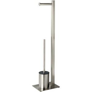WC-Garnitur, metall, Gr. 75/20/15 cm,  home