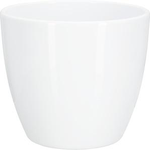 Übertopf Madrid Keramik weiß Ø 22 cm