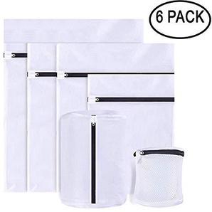 Homclo waschnetz für Waschmaschine Waschbeutel Set Wäschenetz wäschesack mit reißverschluss Waschtasche BH Unterwäsche und Schuhe