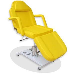 360° Massagestuhl Kosmetikstuhl Spa Kosmetikliege Behandlungsliege Gelb - EYEPOWER