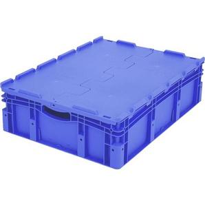 BITO-Lagertechnik Eurostapelbehälter XL Deckel/Kufe / XLD86221 800x600x220 blau Deckel
