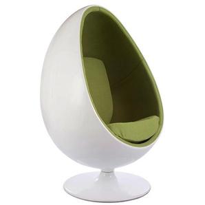 Ovaler Egg Sessel - Grün