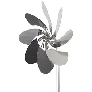 A1003 - steel4you Windrad Speedy28 aus Edelstahl (28cm Rotor-Durchmesser), kugelgelagert - made in Germany