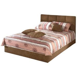 Tagesdecke, Westfalia Schlafkomfort, beige, 155 cm x 225 cm