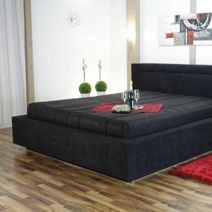 Tagesdecke, Westfalia Schlafkomfort, schwarz, 190 cm x 220 cm