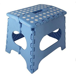 P & B Wholesalers Klapphocker Rosa Grün Blau Klappstuhl Kinder Kinderzimmer Sitzhocker Falthocker Hocker (Blau)