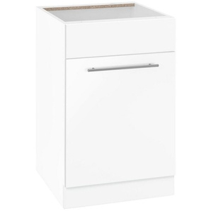 wiho Küchen Spülenschrank »Flexi2« Breite 50 cm, weiß