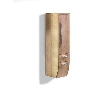 MONDO Mittelschrank RONDA Eiche Natur Nachbildung ca. 30 x 129,6 x 38 cm