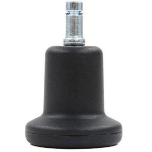 5x Stand 10mm/50mm Bodengleiter - Stuhlrollen