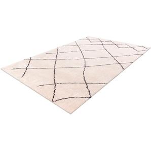 Hochflor-Teppich, Elvar-5000, calo-deluxe, rechteckig, Höhe 27 mm, maschinell gewebt