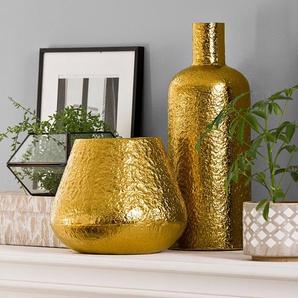 Vase ,gold ,Aluminium