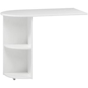 Carryhome: Tisch, Weiß, B/H/T 60 72 93