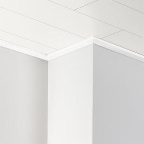 PARADOR Deckenleiste »DAL 3 - Esche weiß glänzend Dekor«, 2570 x 34 x 12 mm