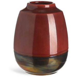Vase TwoTone, Keramik, D:16cm x H:20cm, rost