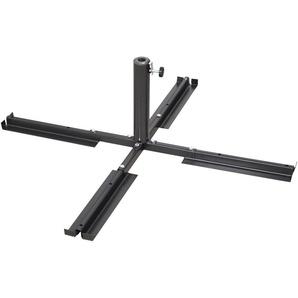 SCHNEIDER SCHIRME Plattenständer Stahl, für Schirmstöcke Ø 25-50 mm