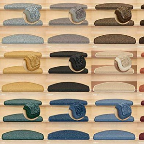 Kettelservice-Metzker Stufenmatten Rambo New Halbrund SparSet incl. Fleckenentferner Blau 15 Stück