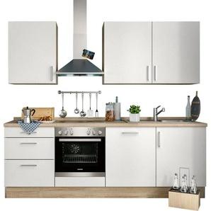 S+ by Störmer Küchenzeile ohne E-Geräte »Melle Basis«, Breite 240 cm, vormontiert