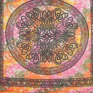 Tagesdecke keltisches Mandala Wandbehang