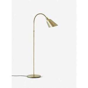 Bellevue AJ7 H130 cm - Messing-Schreibtischlampe