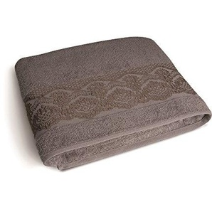 Excelsa Country Spa Duschtuch, Baumwolle, 39x 34x 4cm 39x34x4 cm Cenere