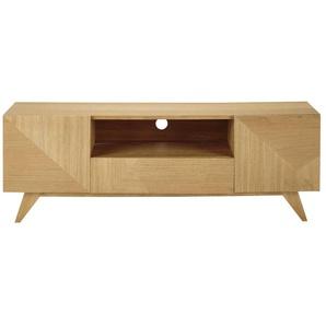 TV-Möbel im Vintage-Stil mit 2 Türen und 1 Schublade Origami