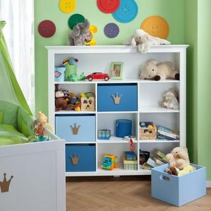 Portobello Aufbewahrungsbox, Blau, Lack / Hochglanz