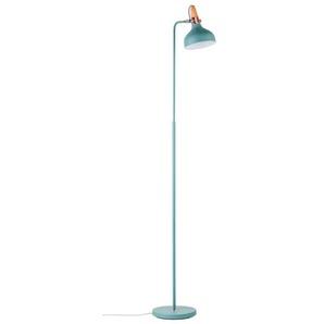 Paulmann Stehlampe, Grün, Alu, Eisen, Stahl & Metall