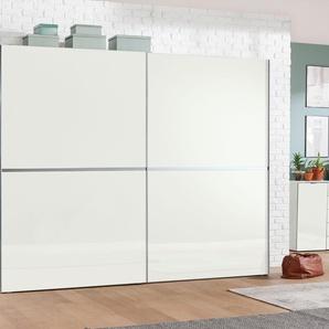 Schwebetürenschrank 3 Breiten, weiß, Höhe 216 cm, Breite 300cm, »dayton«, FSC®-zertifiziert, set one by Musterring