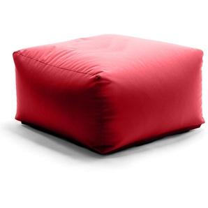 SittingBull® Zipp Sitzsack-Hocker 75cm Red