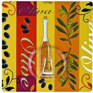 Wenko 4369400100 Static-Loc Wandhaken UNO, olive