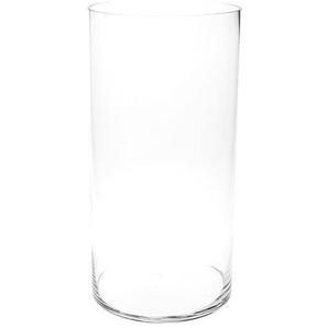 Bodenvase Zylinder, Glas, D:20cm x H:50cm, klar