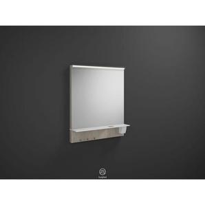Burgbad Eqio Spiegel Set 769x650x150 mm, Eiche Dekor Flanelle