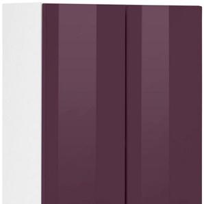 Hängeschrank, HELD MÖBEL, »Venedig«, Breite 50 cm mit Metallgriffen, lila