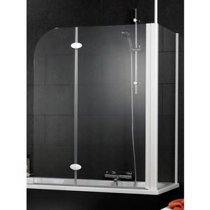Schulte Badewannenaufsatz 2-teilig mit Seitenwand 114,5 cm x 140 cm