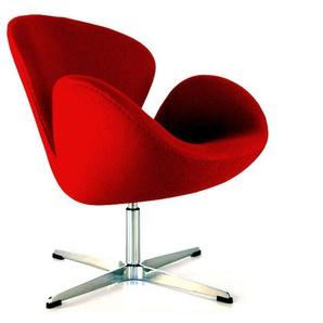 Swan Sessel Arne Jacobsen - Rot