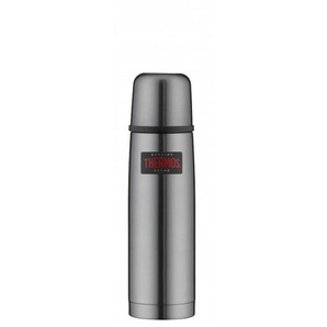 THERMOS by alfi Thermosflasche 500 ml LIGHT & COMPACT Edelstahl Cool Grau