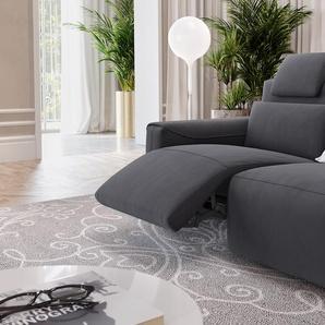 Stoff 2-Sitzer Couch VEGA Sofa mit Funktion