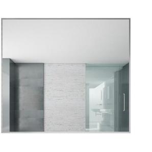 Spiegel Concave 900 x 800mm - silber - Aluminium - BADPLAATS
