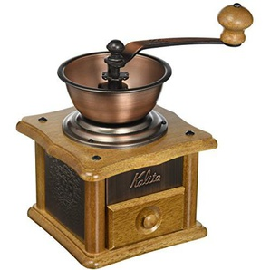 Coffee mill copper plate mill AC-1 ground Kalita hand (japan import)