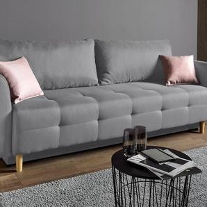 schlafsofas in rosa preisvergleich moebel 24. Black Bedroom Furniture Sets. Home Design Ideas