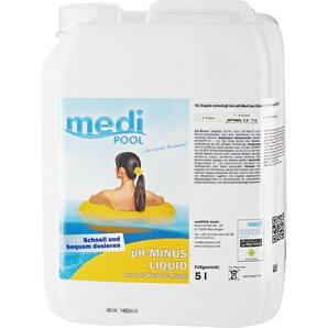Medi Pool pH-Minus Liquid 5 l