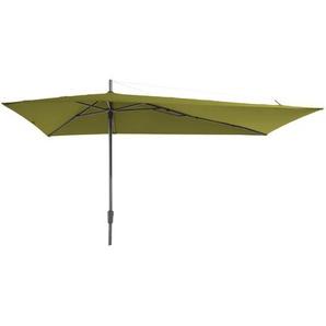 Grasekamp Sonnenschirm Asymmetrisch 360x220cm Grün