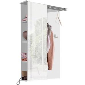 Schildmeyer Garderobenpaneel »Dorina«, mit Spiegel, weiß