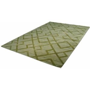 Kayoom Teppich »Luxury 310«, 200x290 cm, besonders pflegeleicht, 13 mm Gesamthöhe, grün